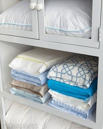 Хранение белья в шкафу