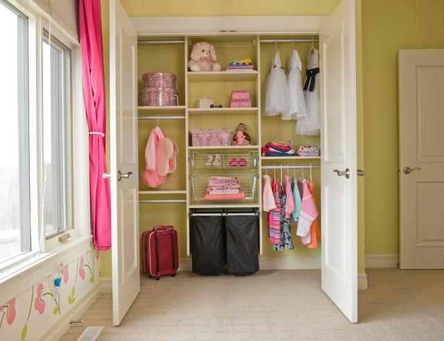 Идея хранения вещей в детской