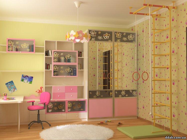 Как разместить шкаф в детской комнате
