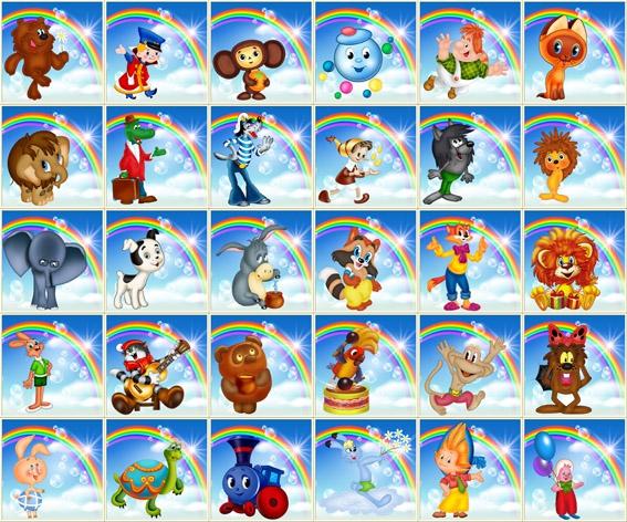 Картинки с мультипликационными героями