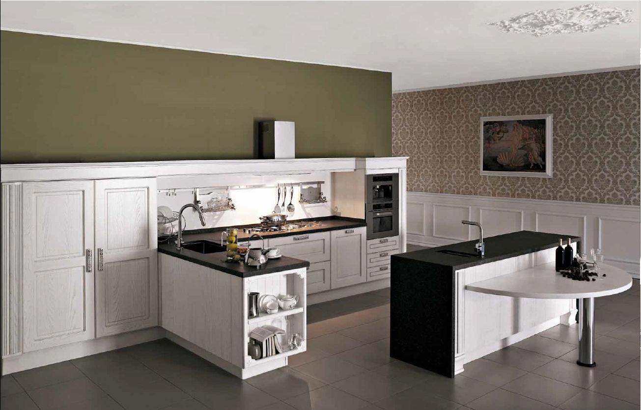 Кухня с напольными шкафами
