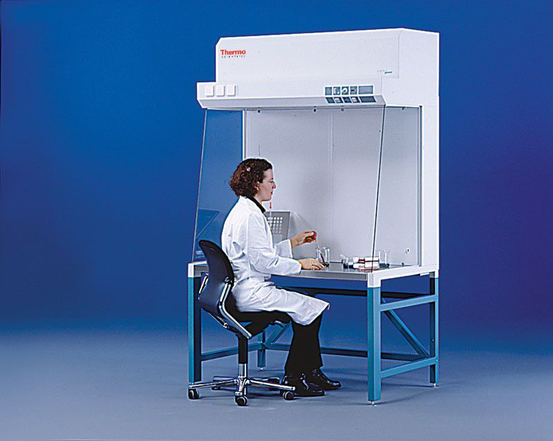 Ламинарный шкаф предназначен для работы с безопасными веществами