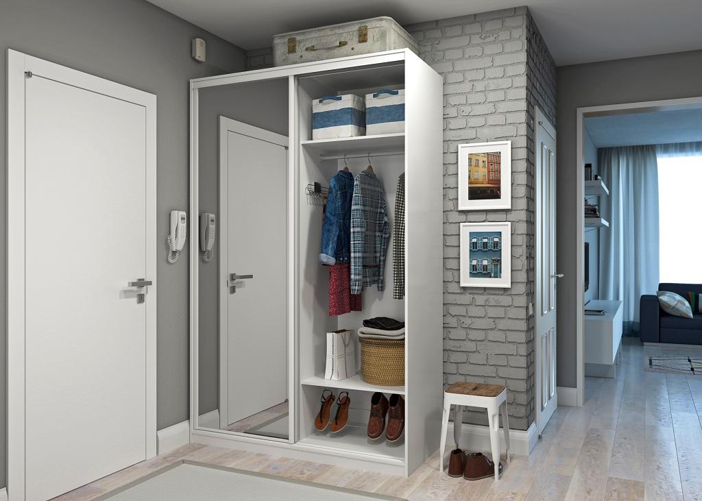 Маленький прямоугольный шкаф