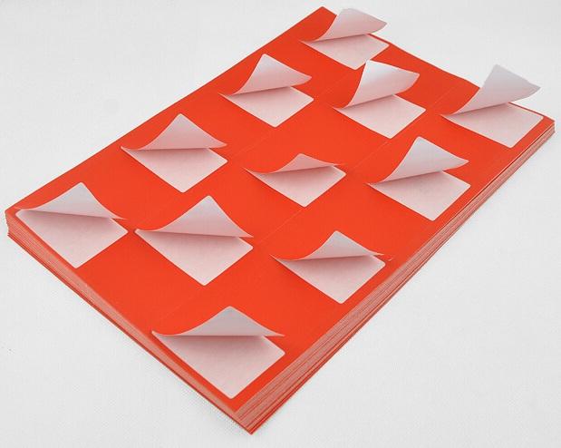 Наклейки на бумажной основе