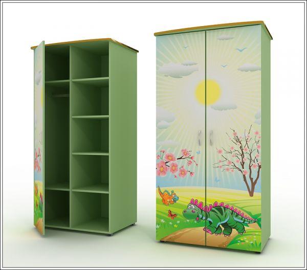 Наполнение детской шкафа