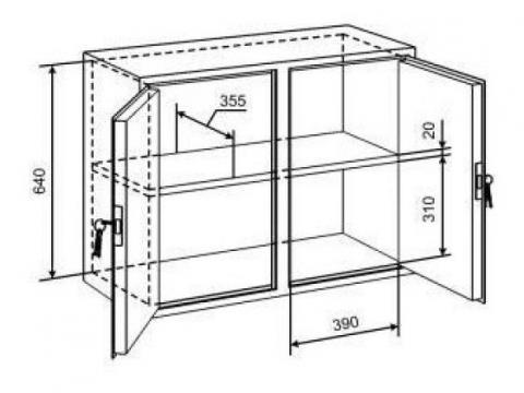 Небольшой шкаф для документов