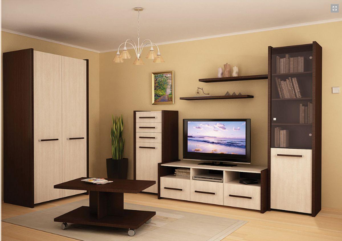 Модульные шкафы для гостиной, каких типов бывают, их плюсы и.