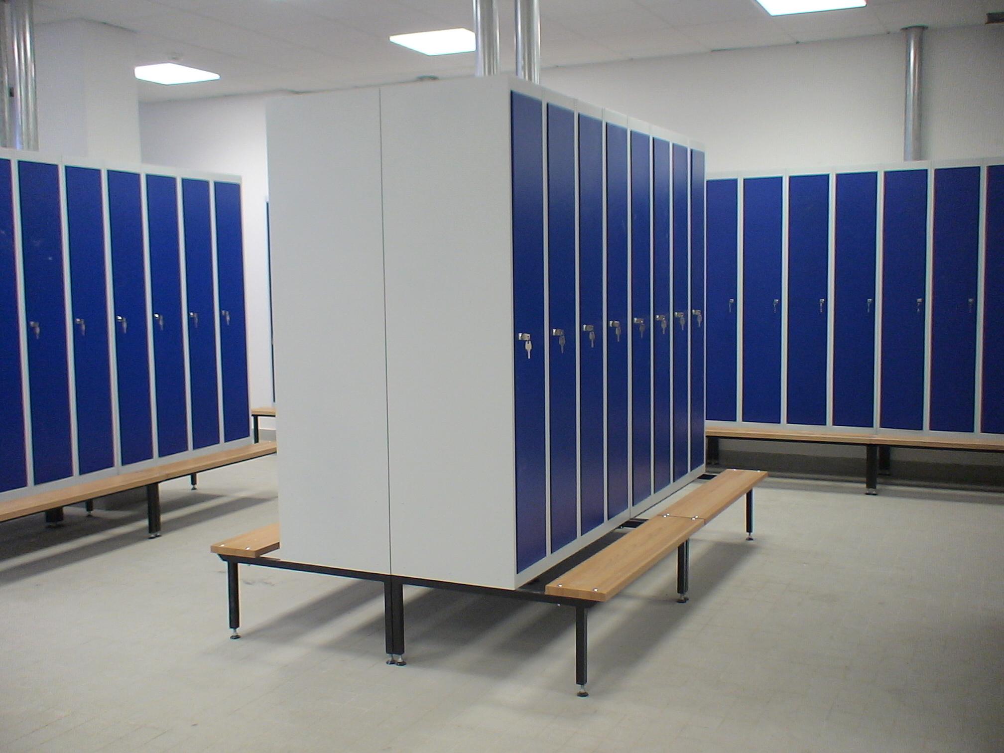 Проект металлических шкафов для одежды