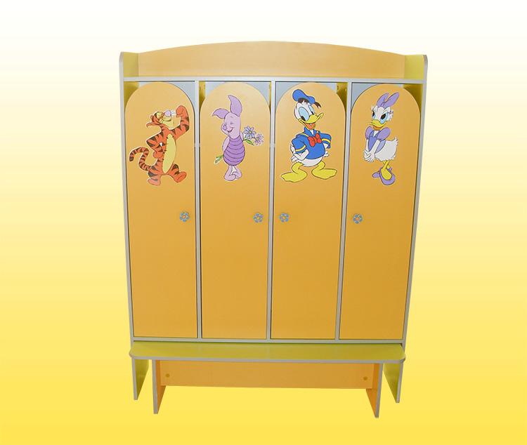 Оформление шкафчиков для детского сада
