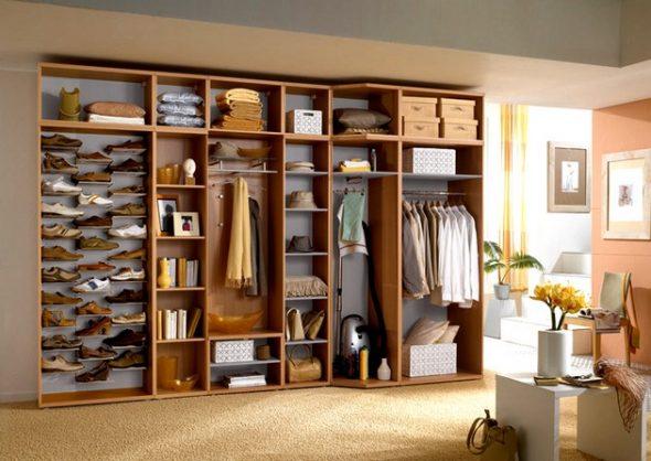 Планировка пространства шкафа