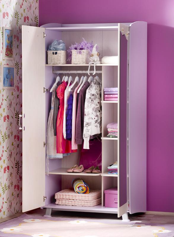 Распашной шкаф для девочки