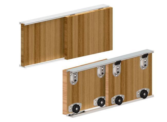Роликовая система шкафа