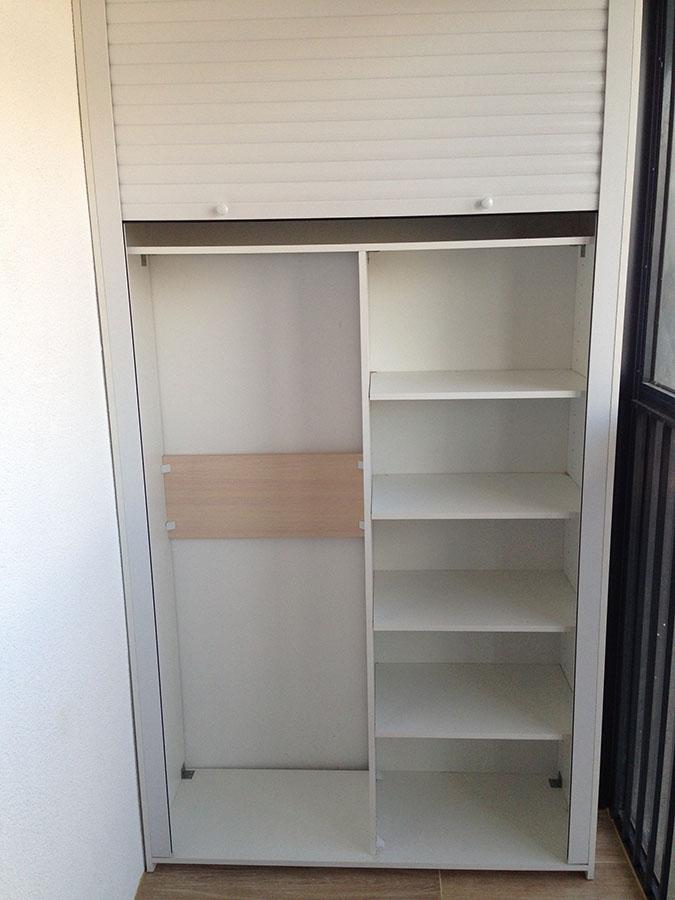 Рольставни для встроенного шкафа