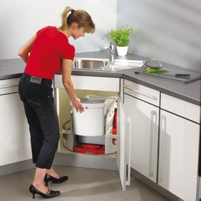 Шкаф для кухни для мусора