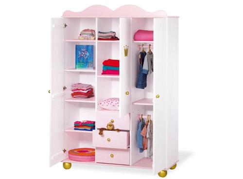 Шкаф для одежды на ножках