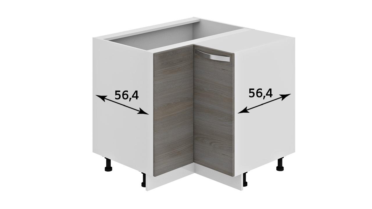 Шкаф нижний угловой