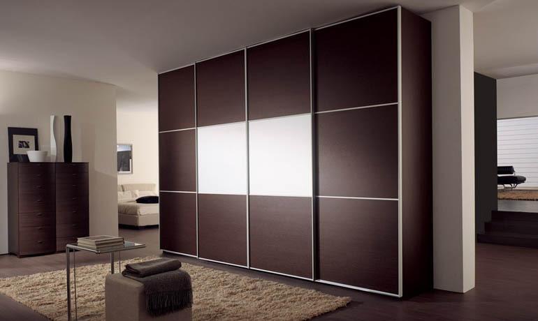 Шкаф темный шоколад