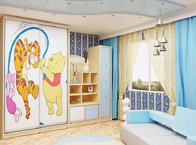 Шкафы детские в дизайне