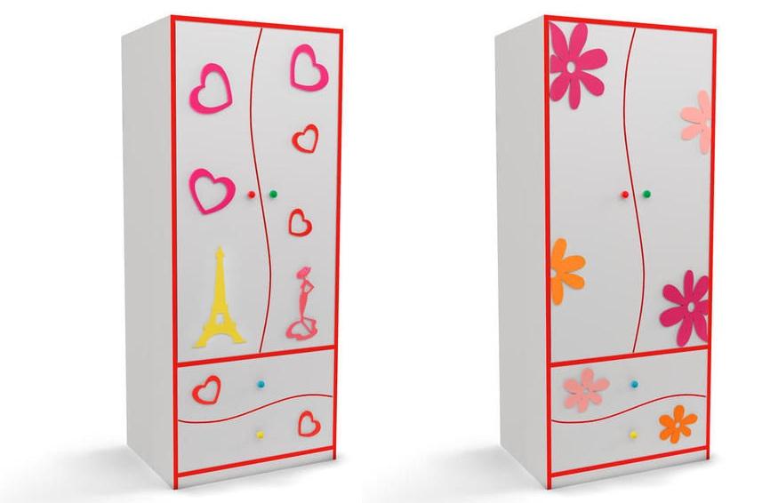 Шкафы для спальни девочки