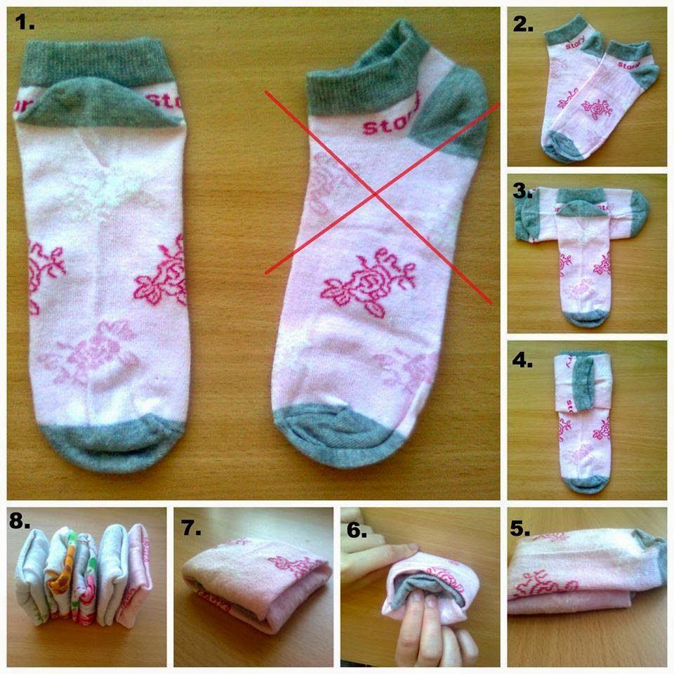 Складываем носки