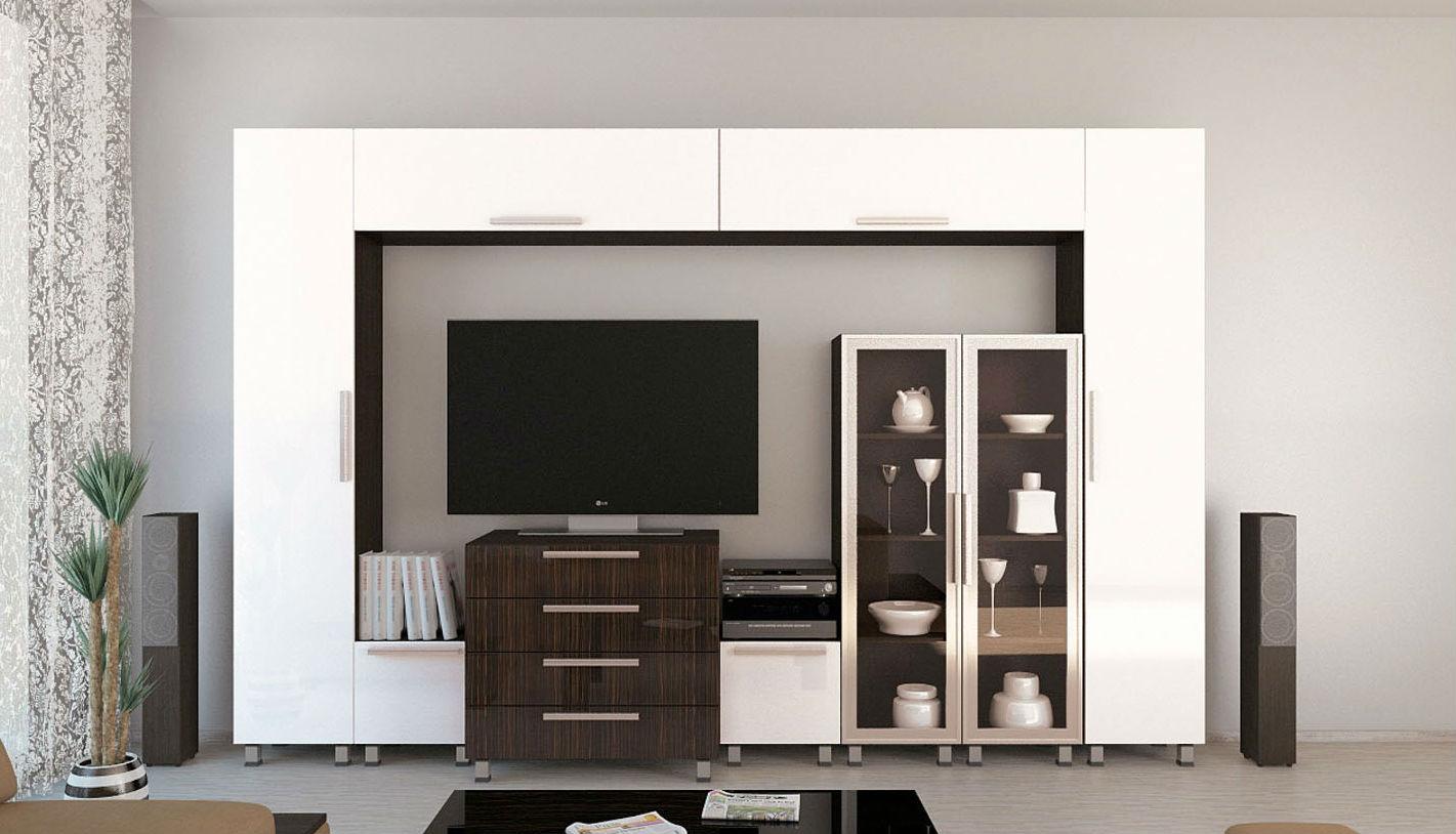 Современная модульная гостиная
