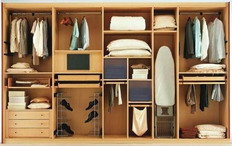 Способ наполнения шкафа