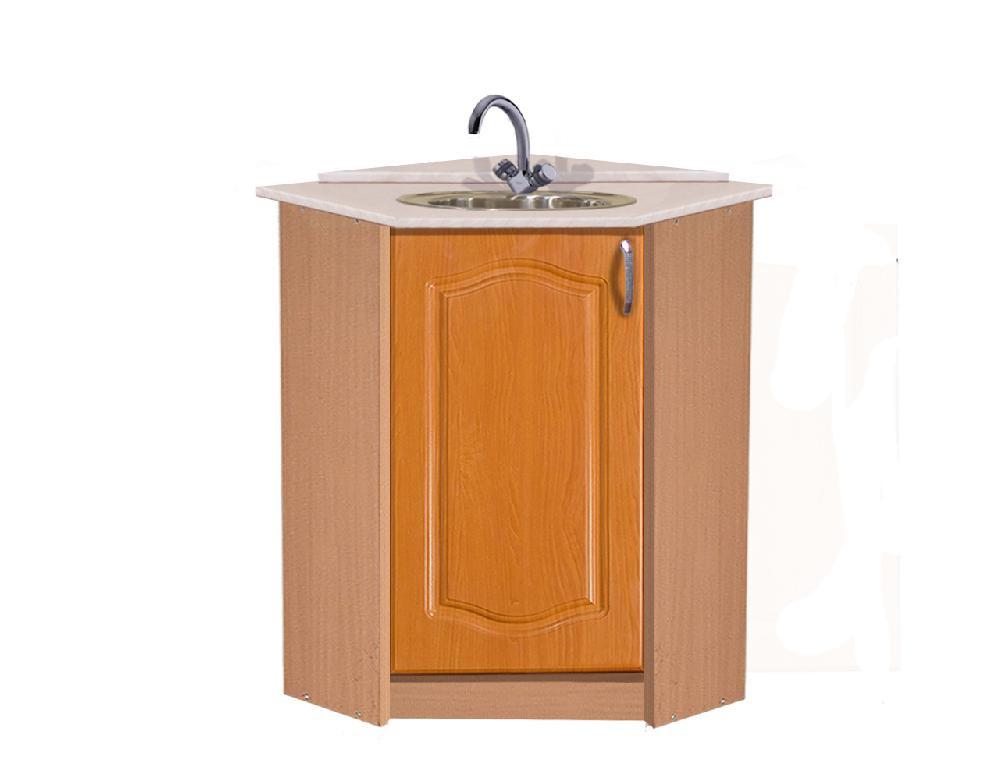 Угловой шкаф под раковину