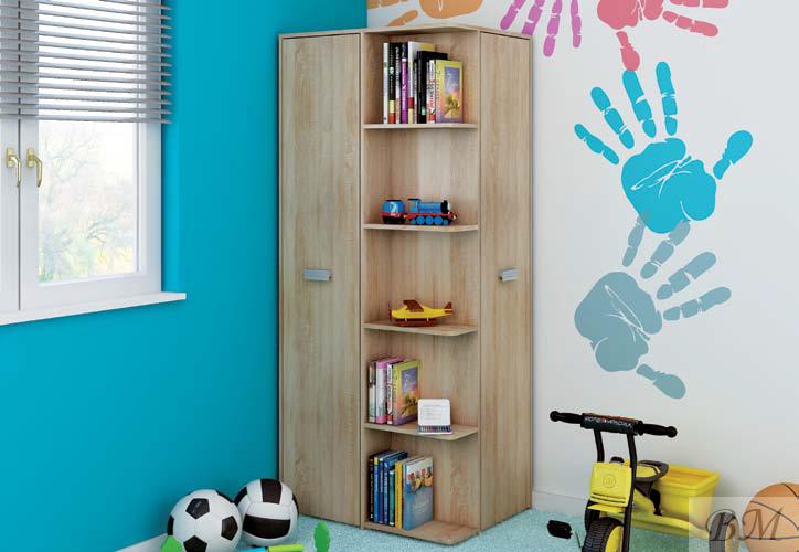 В детской должна уместиться вся необходимая мебель