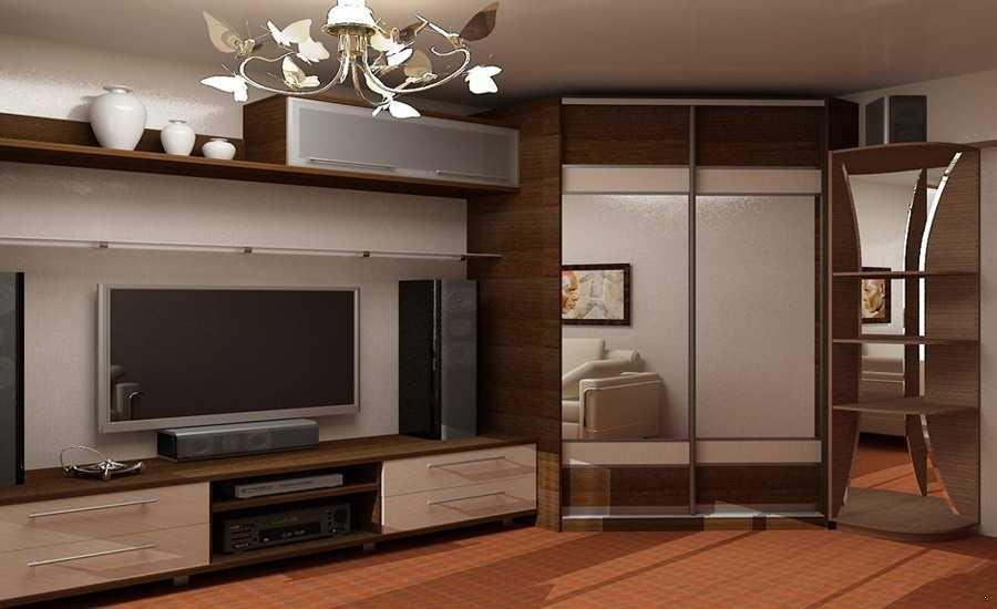 Виды шкафов для гостиных