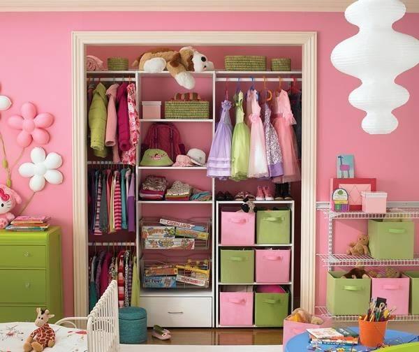 Встроенная детская гардеробная