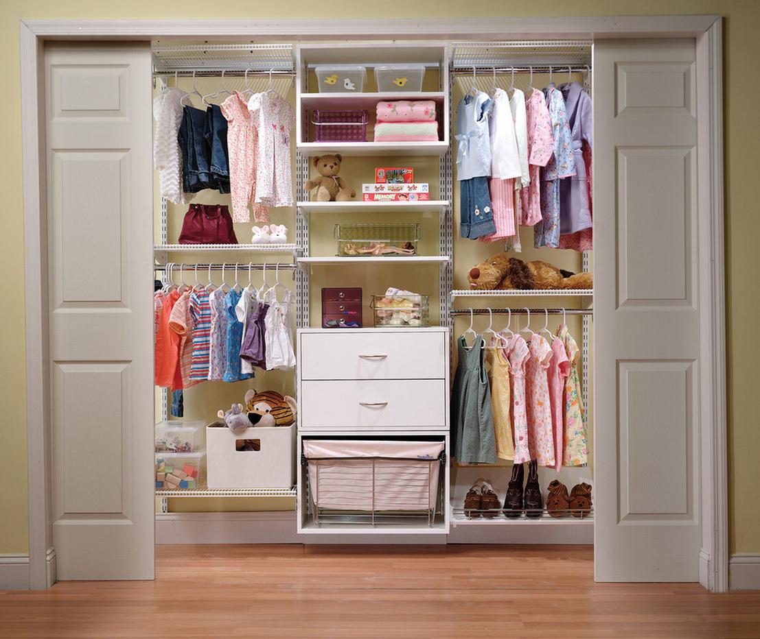 Встроенный детский шкаф
