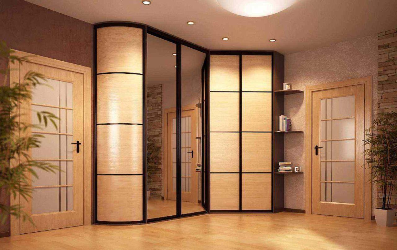 Встроенный комбинированный шкаф