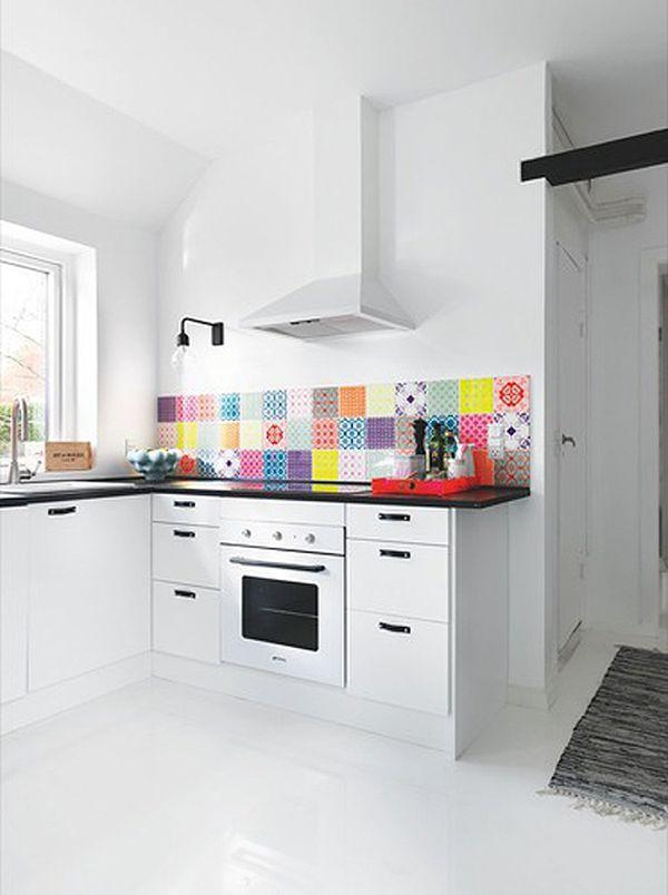 Яркий акцент в кухне