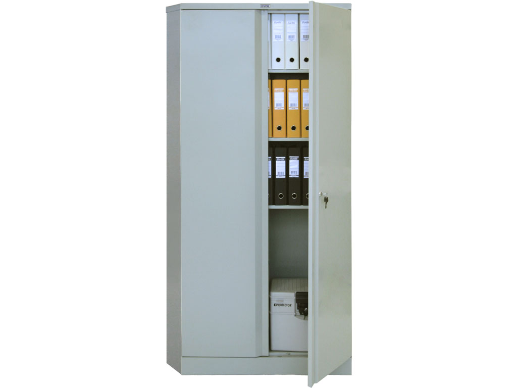 Архивный металлический офисный шкаф