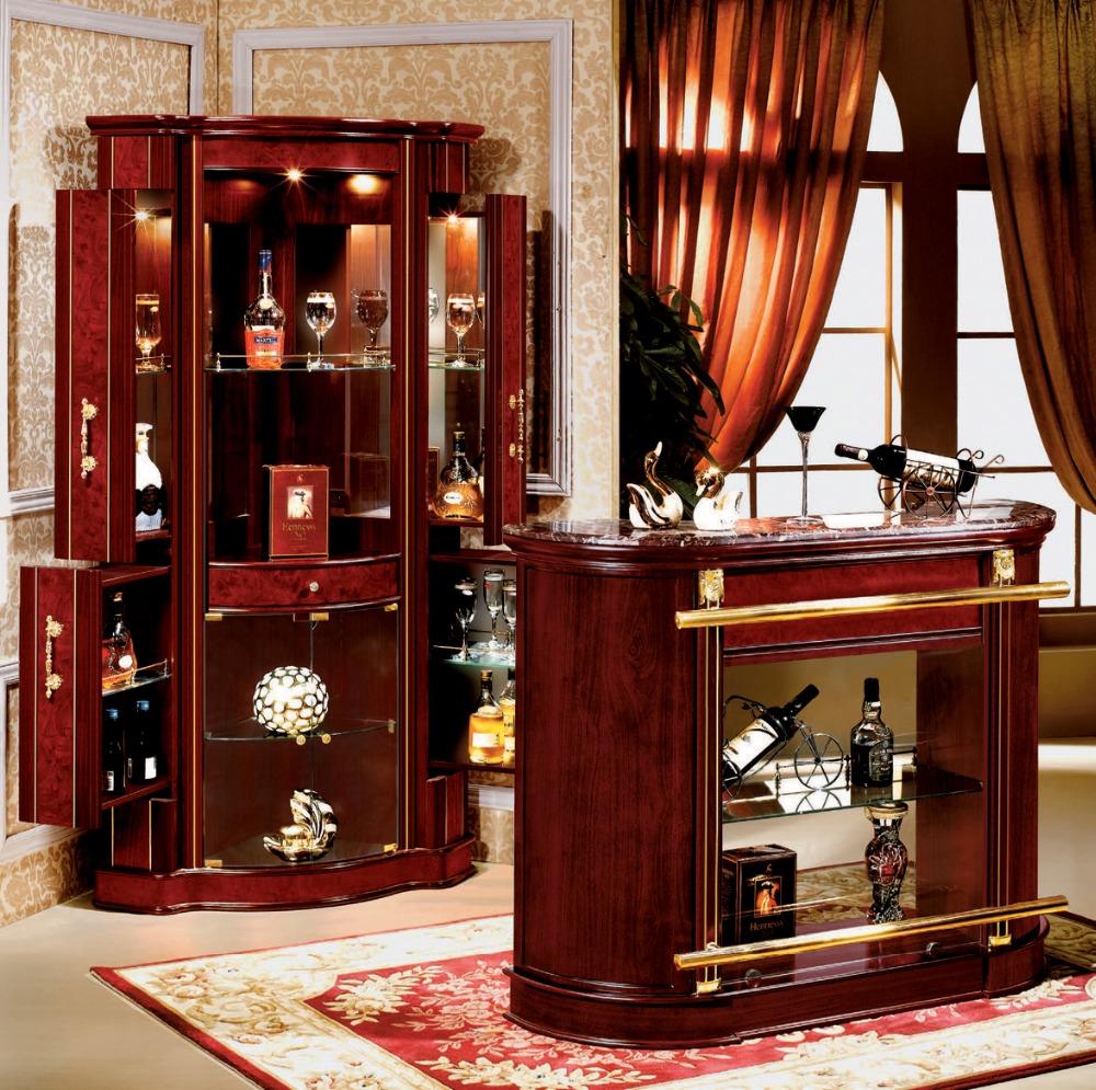 Барный шкаф в кабинете рабочем