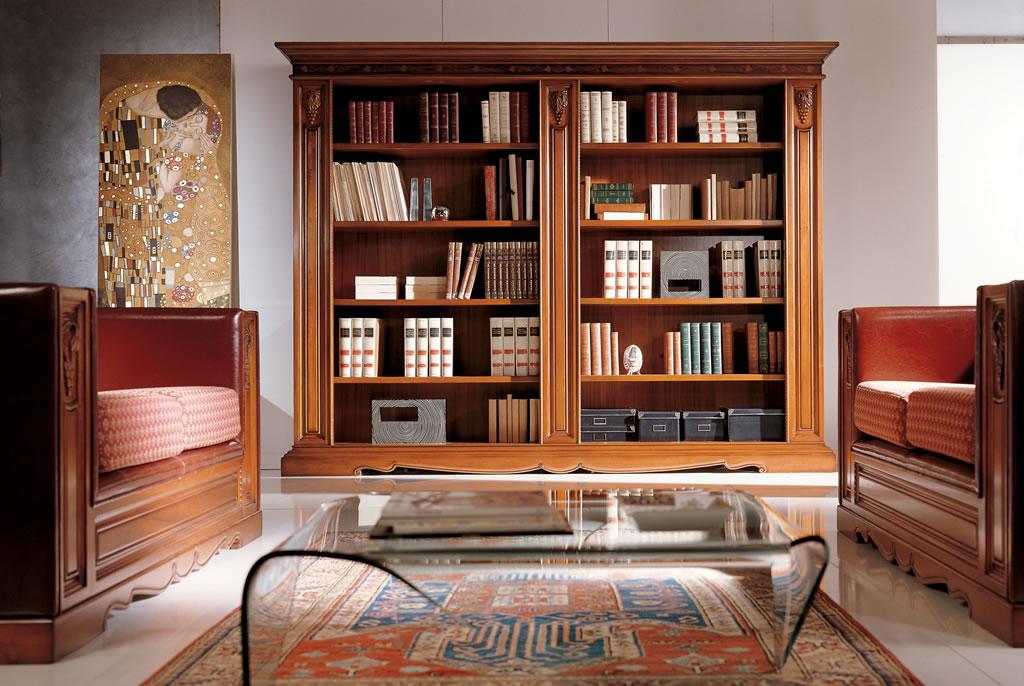Библиотека в домашнем кабинете