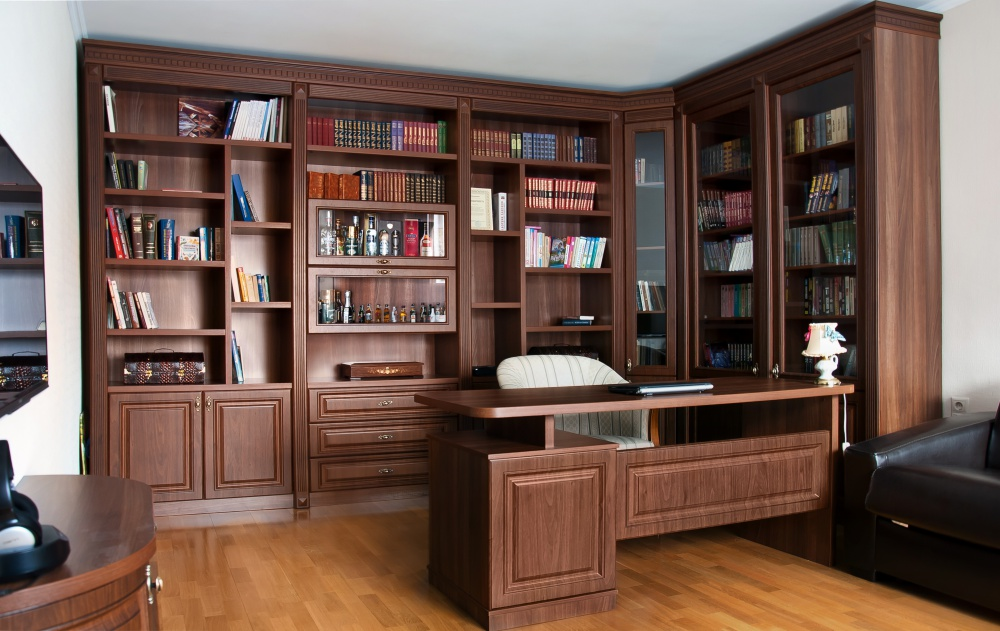 Библиотека в рабочий кабинет