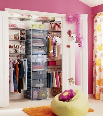 Чем наполнить детский шкаф