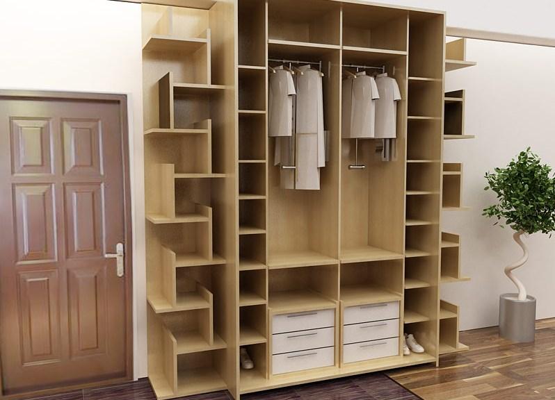 Чем наполнить узкий шкаф