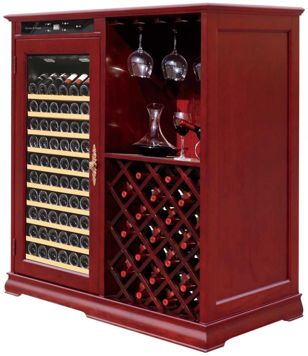Деревянный шкаф бар
