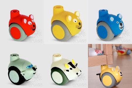 Детские мебельные колеса