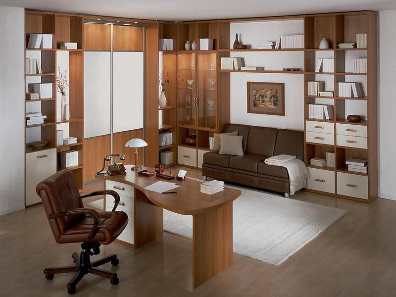Дизайн шкафа для кабинета
