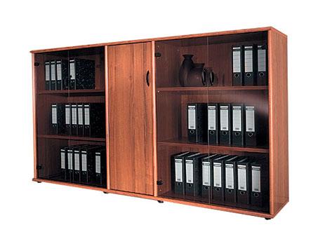 Длинный шкаф в офис