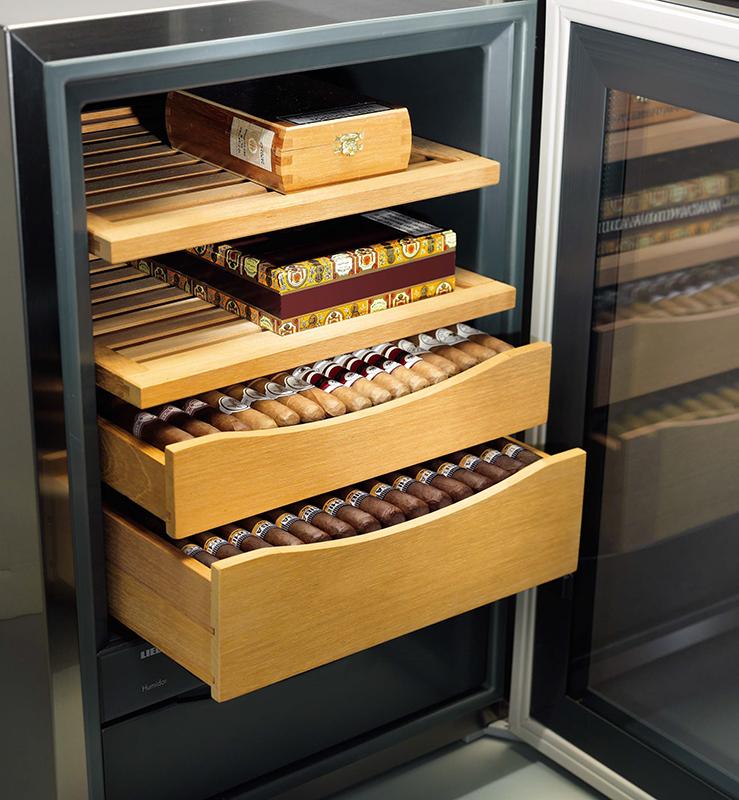 Хранение сигар