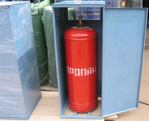 Хранилище газового баллона