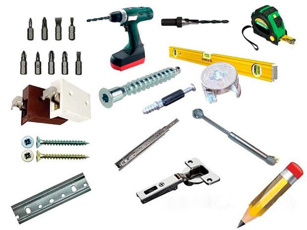 Инструменты для создания стола