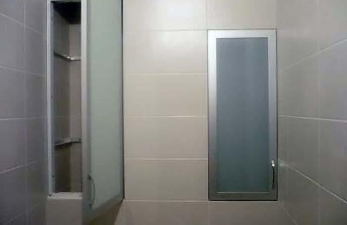 Как сделать дверку в туалетный шкаф