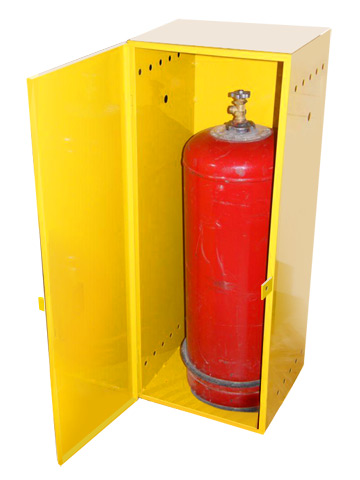 Как сделать ящик для газового баллона