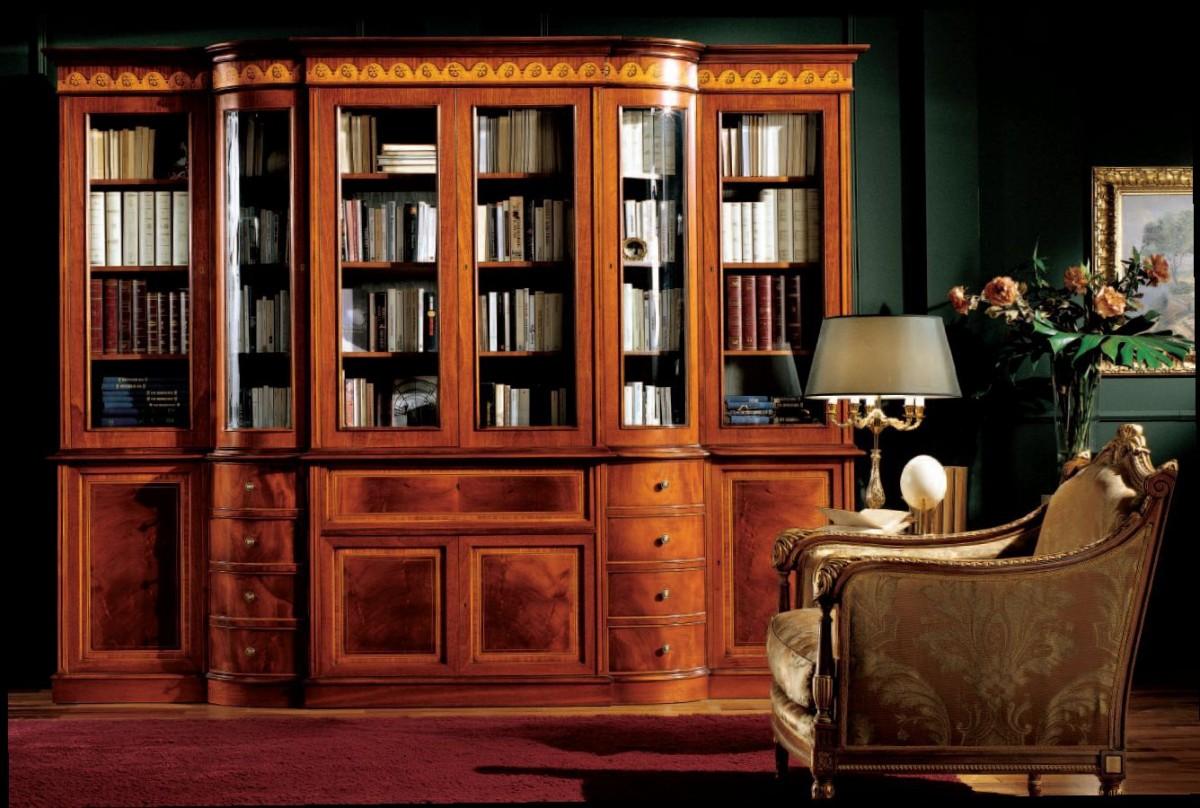 Книжный шкаф - незаменимый атрибут