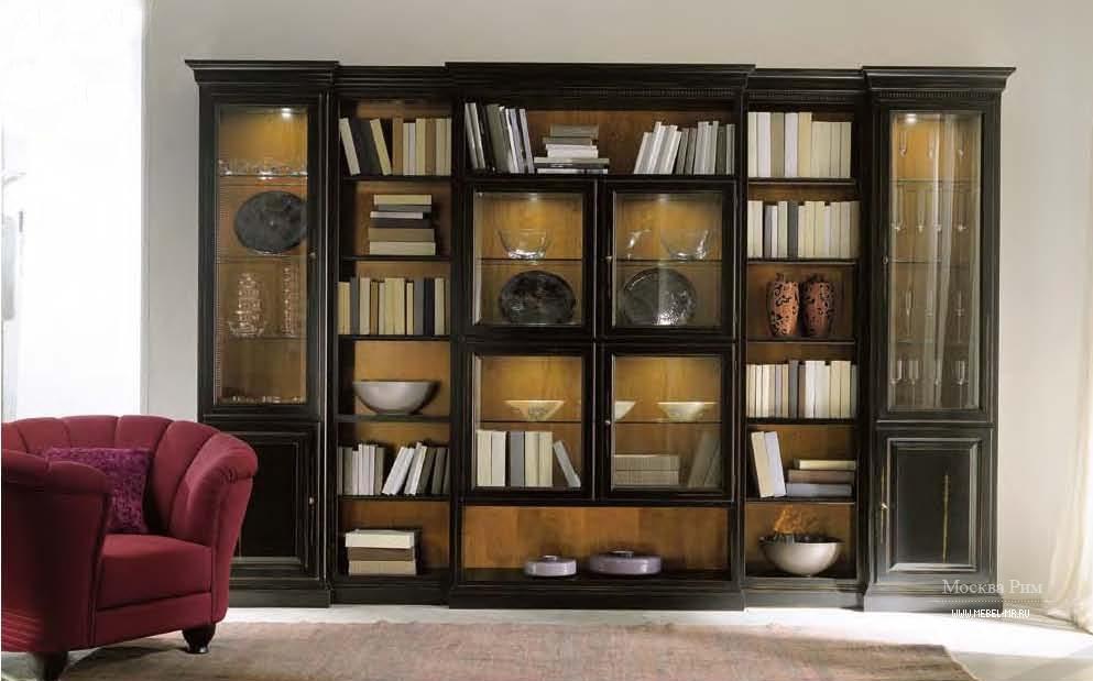 Книжный шкаф витрина